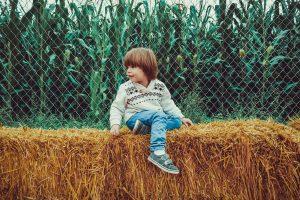 child hay