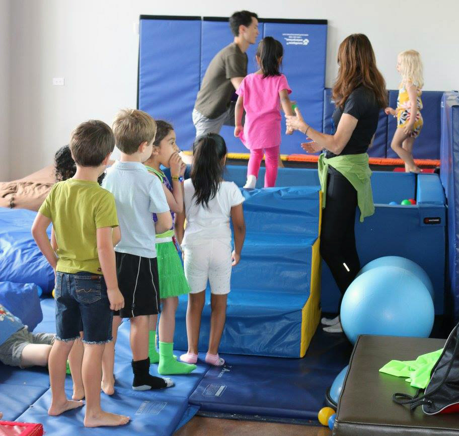 Physical Therapy At A Therapeutic Summer Camp Eyas Landing