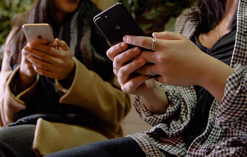 Eyas Landing and phone image